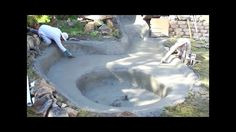 cement ponds | Design A Pond- Liner vs Concrete- Build a Pond- How To - YouTube
