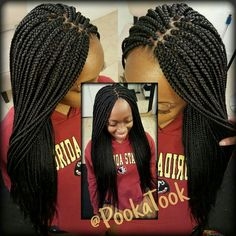 New Braided Hairstyles, Crochet Braids Hairstyles, Dope Hairstyles, African Braids Hairstyles, African American Hairstyles, Black Girls Hairstyles, Natural Hairstyles, Cute Box Braids, Big Braids