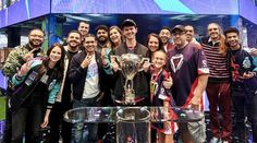 The Fortnite World Cup Has Ended and the Results Are In - Over 40 million players participated. Only the Fortnite World Cup Champions remain standing. This event was the culmination of 10 weeks of Online Open Qualifiers. Blue Neon Lights, World Cup Champions, World Cup Final, Video Game News, Epic Games, Cool Watches, Bananas, Champs, All About Time