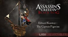 Zuerst nur in der Collectors Edition von Assassin's Creed IV: Black Flag erhältlich. Nun ist die Edward Kenway: The Captain Figur als stand-alone Edition erhältlich. Diese Edition enthält das 55cm hohe Diorama.