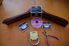 A DIY Wedding Hanger :  wedding crafts decor diy gift ideas northern california Dsc032801 DSC032801