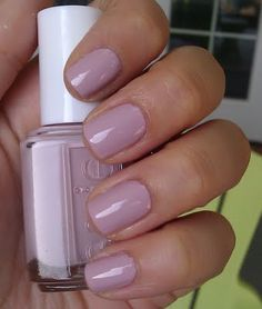 "Essie Neo Whimsical - mauvey ""nude"" for Soft Summers - pretty nail polish without too much color"