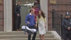 Duke and Duchess leave with new baby daughter - ITV News