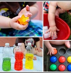 50+ Ideas for Baby play.  via Kids Activities Blog