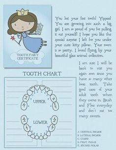 tooth fairy letter..