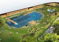Herzog & de Meuron firmano la prima piscina pubblica senza cloro in Svizzera