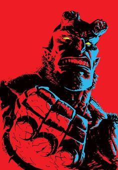 Hellboy by Francesco Biagini *