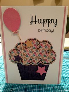 Cupcake Birthday Card - Scrapbook.com