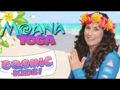 A kids yoga adventure inspired by Disney's Moana. Join Jaime on a journey to Motunui - in yoga poses! Strength, balance and calm for kids aged Please supp. Teaching Yoga To Kids, Yoga For Kids, Exercise For Kids, Kid Yoga, Indoor Activities, Toddler Activities, Disney Activities, Yoga Videos, Kids Videos