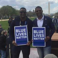 The Blue March On Washington