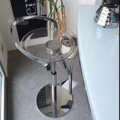 Sgabello cayman fasem regolabile cromo - Arredamento e Casalinghi In vendita a Salerno