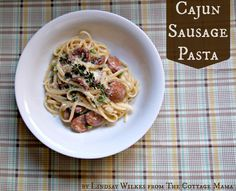 Pasta is the go-to meal in our house. It's quick, easy and inexpensive. My husband and I love spicy food and have always had a fondness for cajun flavors. Cajun Sausage Pasta is a delicious, easy weeknight meal that will have your family begging for more. Cajun Sausage Pasta SERVES 4 Ingredients: 1 pound dried …