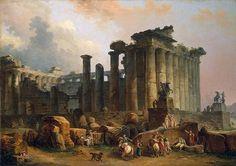 Hubert Robert, Ruins of a Doric Temple