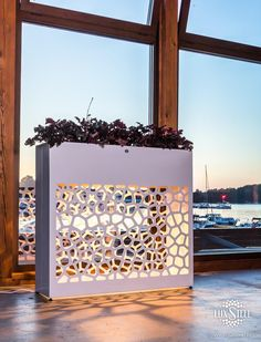 Steel planter box - Organic series