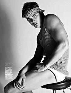 Ryan Bertroche by Matthias Vriens McGrath for Attitude Magazine
