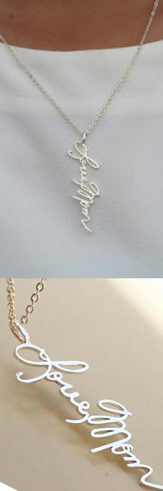 The piece was absolutely stunning. This was a necklace for my cousin who was married and I had her deployed husband send something with his hand writing and it is a piece she  will cherish forever! #valentinesideas #giftideas #ad #couplegoals