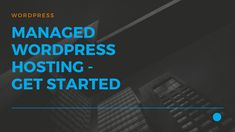 JustITHosting - Managed Wordpress Hosting - Get Started Virtual Private Server, Creating A Blog, Take Care, Get Started, Wordpress, How To Get, Website, Create, Easy