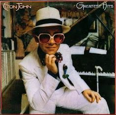 Elton John album-covers