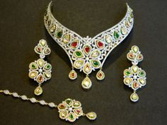 TRADITIONAL Necklaces.. Price :RS 11000 After discount Rs 9900 Contact on : Team Jaipur Mart (+918233096315) via emai id: martjaipur@gmail.com visit our Facebook Page :https://www.facebook.com/www.jmfashion.in?ref=hl