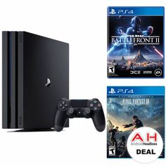 Deal: PlayStation 4 Pro 1TB Console With Star Wars Battlefront 2 & Final Fantasy XV for $399 – 11/20/17 #Android #Google #news
