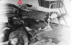 Volyn massacre. Poland forgotten already. In the picture -   Polish family hacked by Bandera  in Matsiev (Lukove) in February 1944 in the far corner on a pillow that is lying. Hence it is difficult to see.