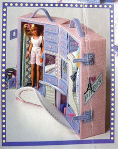 Barbie Wardrobe - Canvas