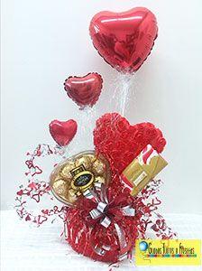 valentine gift baskets   Valentine`s day   Pinterest ...