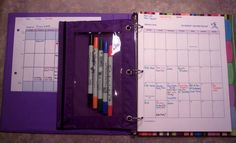 """This week, I am officially starting my new """"blog planning"""" plan. I saw Resourceful Mommy Amy Lupold Bair's Review of the DIY Planner from GO MOM inc. and wondered if it would work for me. I am weird when it comes to calendars and schedules. I need to have all my appointments and events in…"""