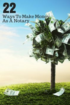 Ways To Make Money As A Notary Here are 22 things you can do right now to make more money as a Notary.Here are 22 things you can do right now to make more money as a Notary. Work From Home Jobs, Make Money From Home, Way To Make Money, Make Money Online, How To Make, Money Tips, Money Saving Tips, Notary Public, Earn More Money