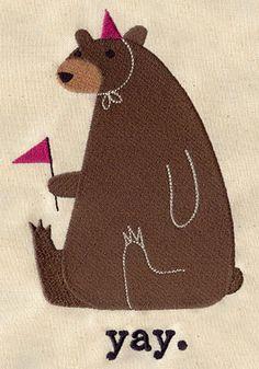 party bear yay