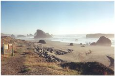 Gold Beach, OR - A friend just posted a picture of his visit here and I am so jealous.  Would love to take a family vacation here.