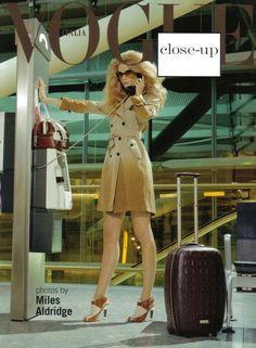 Vogue Italia Closeup by Miles Aldridge (Vogue Italia)