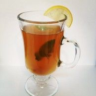 The perfect homemade cold/flu remedy - Spiced Green Tea