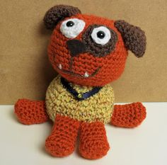PJ Crafts in Austin: Milo the Pup Pattern now FREE!