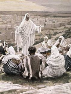 The Lords Prayer painting by James Tissot