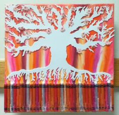 crayon tree | crayons