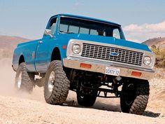 72 Chev truck Big guy like big trucks 67 72 Chevy Truck, Chevy 4x4, Lifted Chevy Trucks, Classic Chevy Trucks, Gm Trucks, Chevy Pickups, Chevrolet Trucks, Cool Trucks, Pickup Trucks
