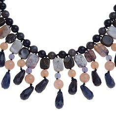 Buy Lola Rose FeeFee Jasper, Sandstone and Quartzite Statement Necklace, Multi Online at johnlewis.com