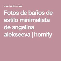 Fotos de baños de estilo minimalista de angelina alekseeva | homify