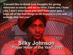 dave chappelle player hater of the year Player Hater, Funny Jokes, Hilarious, Funny Stuff, Funny Pins, Random Stuff, Chappelle's Show, Dave Chappelle, Humor