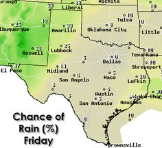 Good Friday morning everyone! We've got your daily Texas Weather Roundup ready to go. Grab your coffee and head over to our blog for the forecast and a peak at the weekend. The monsoon is ramping up and so could our summer heat. We may even see a few more triple digit temperatures before too much longer.   http://texasstormchasers.com/?p=38773
