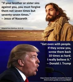 Trump. The new Christian Right poster boy.