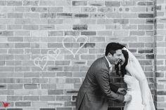 black and white brick photography