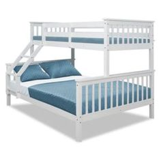 Patrové postele (Palandy) | FAVI.cz Single Bunk Bed, Double Bunk Beds, Pine Beds, Loft Furniture, Kids Bunk Beds, Bedding Collections, Bed Frame, Kids Bedroom, Baby Room