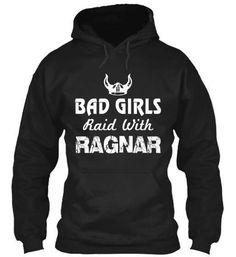 T-shirt - Bad Girls Raid With Ragnar
