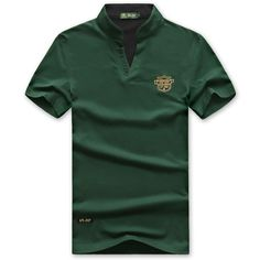 Cheap Men's Clothing, Buy Quality Tees and Tank Top directly from China Tees and Tank Top Suppliers: Casual Loose Cotton Solid Color Polo Shirt Plus Size Short Sleeve V-Neck T-Shirt For Men Camisa Polo, Plus Size Shorts, Color Shorts, Short Sleeve Polo Shirts, T Shirt, Shirt Men, Men Casual, Tees, Mens Tops
