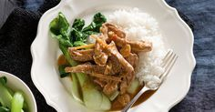 Start this recipe in the morning and have succulent sweet pork ready for you at dinner time.