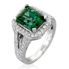 Engagement Rings With Colorful Stones | Wedding Engagement | Brides.com