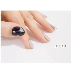 いいね!33件、コメント1件 ― nail LETTERさん(@nail_letter)のInstagramアカウント: 「nail design☆ #ネイルサロン広島#ネイルサロン#星ネイル#ネイルデザイン#ネイル#LETTER#レター#ネイルサロン#アースカラー#ジェルネイル#ネイル」