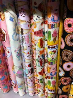 telas de patchwork en exposición y en venta online www.bordadosypatchworkamelia.com